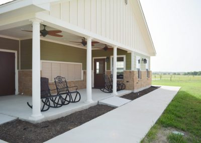 Mailbox & Patio | Retreat at 971 RV Park
