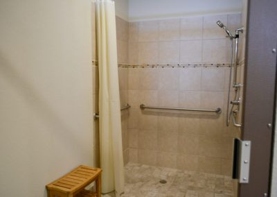 Private Showers | Retreat at 971 RV Park