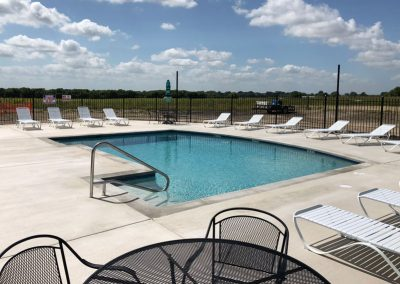 Pool Area | Retreat at 971 RV Park